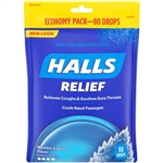 Halls Mentho Lyptus Cough Drops Regular