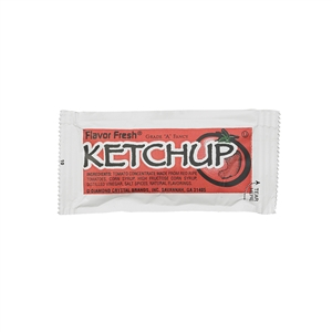 Flavor Fresh Ketchup Pouch 500 Count - 7 Gr.