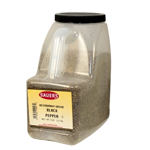 Restaurant Grade Black Pepper - 5 Lb.