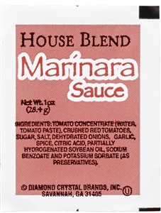 House Blend Marinara Sauce Cup - 1 Oz.