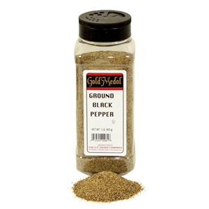 Gold Medal Ground Black Pepper - 1 Lb.