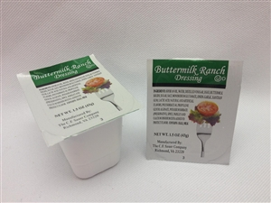 Ranch Buttermilk Dressing - 1.5 Oz.