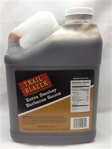 Trailblazer Extra Smoky Barbecue Sauce - 1 Gallon