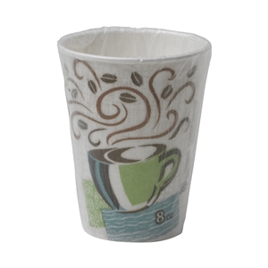 Perfect Touch Insulated Paper Hot Cup Individually Wrapped - 8 Oz.