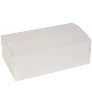 Dinner Size Carryout Carton White - 9 in. x 5 in. x 3 in.