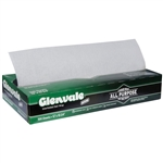Glenvale Interfolded Medium Weight Dry Waxed Deli Paper White - 12 in. x 10.75 in.