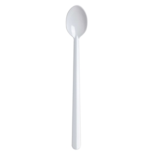 Medium Weight Polystyrene Soda Spoon White