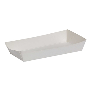 White Dixie Veltone Tray - 3.25 in. x 5.25 in. x 0.88 in.
