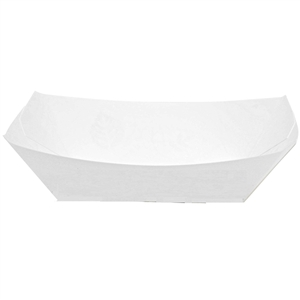 Kant Leek Polycoated Paper Food Tray - 3 lb.