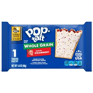 Pop-Tart Whole Grain Frosted Strawberry - 1.76 Oz.