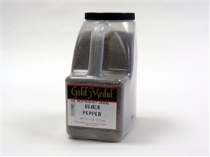 Gold Medal Restaurant Ground Black Pepper - 5 Pound