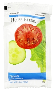 House Blend Ranch Dressing Pouch - 1.5 Oz.