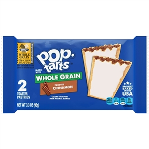 Pop-Tart Whole Grain Frosted Cinnamon - 3.51 Oz.