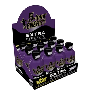 5 hour Energy Extra Strength Grape - 1.93 fl.oz.