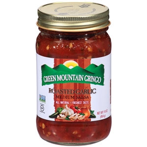 Green Mountain Gringo Roasted Garlic Salsa - 16 oz.
