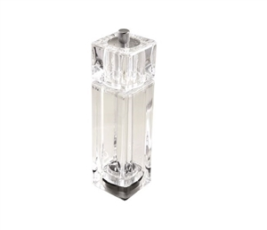 Clear Acrylic Salt and Pepper Mill Shaker - 6 in.
