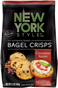 New York Style Bagel Crisps Cinnamon Raisin 20 percentage More Free