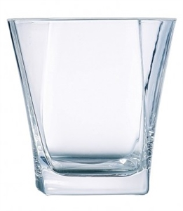Arcoroc Prysm Double Old Fashioned Glass - 12.5 Oz.