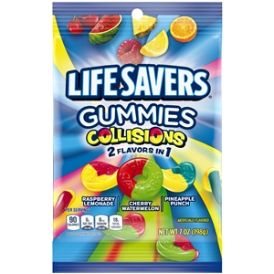 Life Savers Gummies Collisions - 7 Oz.