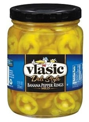 Vlasic Banana Pepper Ring Mild - 12 fl.oz.
