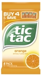 Tic Tac T60 Orange Candy - 1 oz.