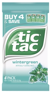 Tic Tac Wintergreen - 4 pk