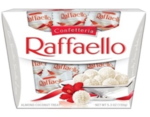 Raffaello Shelf Ballotin Box Candy - 5.3 Oz.