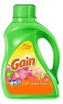 Gain Island Fresh Double Strength Laundry Detergent Liquid - 50 Fl. Oz.
