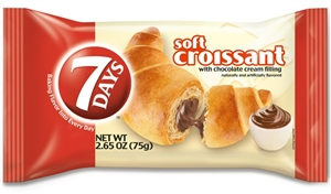 7 Day Croissant Single Serve Tray Chocolate