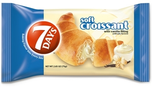 7 Day Croissant Single Serve Tray Vanilla