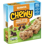 Quaker Granola Bar Chewy Chocolate Chunk - 0.84 Oz.