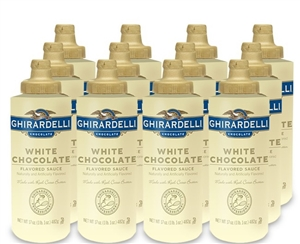 White Chocolate Sauce Squeeze Bottle - 17 Oz.