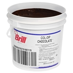 Col Dip Chocolate Pastry Icing - 23 Lb.