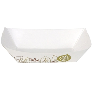 Polycoated Paper Food Tray - 0.25 Lb.
