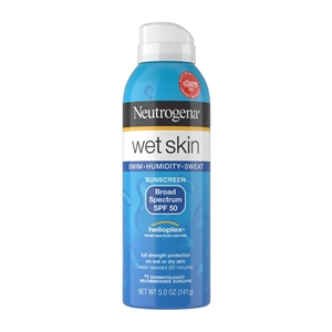 Neutrogena Wet Skin Sunblock Spray Spf 50 - 5 Oz.
