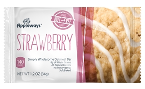 Whole Grain Breakfast Bar Strawberry Oatmeal - 1.2 Oz.