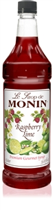 Raspberry Lime Syrup - 1 Liter