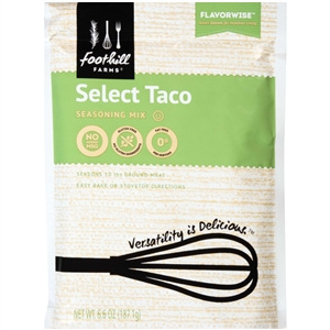 Foothill Farms Select Taco Seasoning - 6.6 Oz.