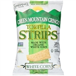 Green Mountain Gringo Organic White Tortilla Strips - 8 Oz.