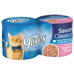9 Lives Seafood Platter Cat Food - 5.5 oz.