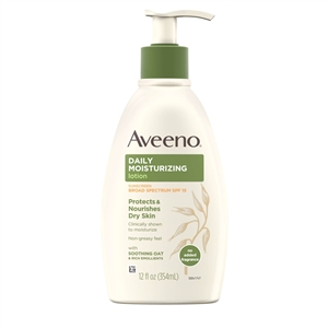 Aveeno Active Lotion With Spf 15 - 12 fl.oz.