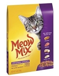 Meow Mix Cat Food Original - 16 Lb.