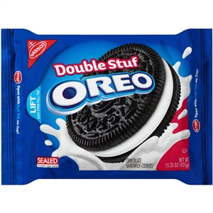 Oreo Cookie Double Stuff - 15.35 Oz.