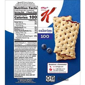 Special K Fruit Crisp Bar Blueberry - 0.88 Oz.
