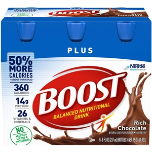 Nestle Boost Plus Prebio 1 Ready To Use Nutritional Beverage - 8 Fl.oz.