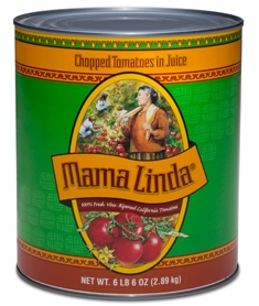Mama Linda Chopped Salsa Base - 102 Oz.