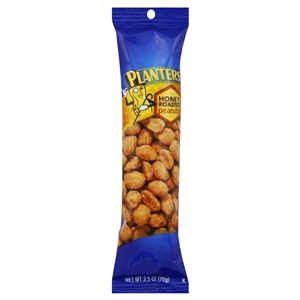 Planters Nut Peanuts Honey Roasted - 2.5 Oz.