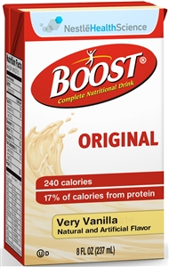 Boost Beverage Vanilla Tetra Brick Pack - 8 fl.oz.