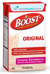 Boost Beverage Strawberry Tetra Brick Pack - 8 fl.oz.