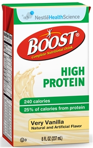 Beverage High Protein Vanilla Tetra Brick Pack - 8 fl.oz.